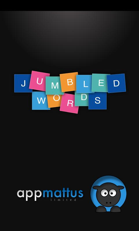 Jumbled Words - screenshot