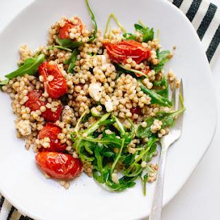 Roasted Cherry Tomato, Arugula and Sorghum Salad