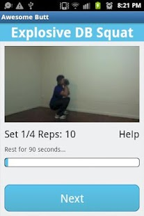 Awesome Butt Workout - screenshot thumbnail