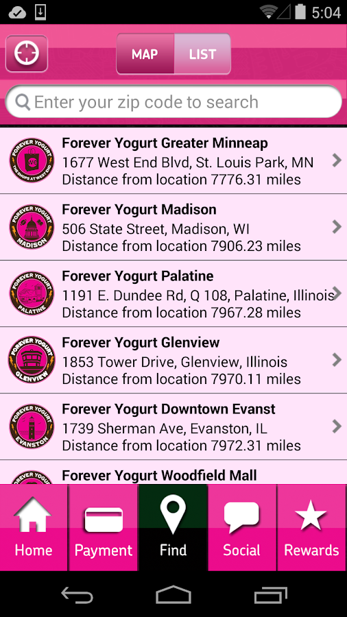 Forever Yogurt- screenshot