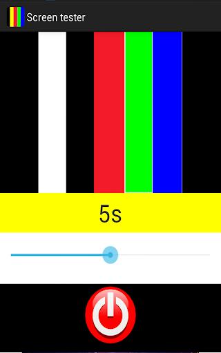 Screen tester
