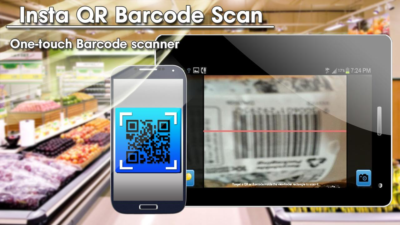 Insta QR Barcode Scan - screenshot