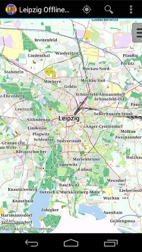 Leipzig Offline City Map