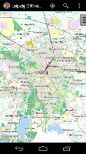 Leipzig Offline City Map - screenshot thumbnail