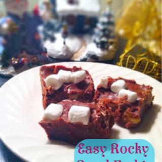 Easy Rocky Road Fudge