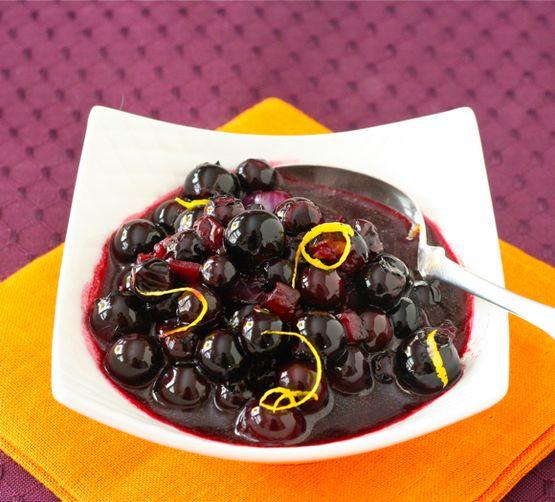 Savory Blueberry Sauce Recipe
