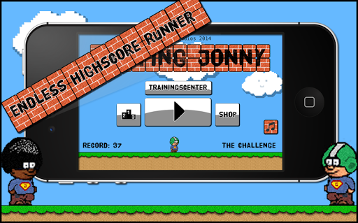 跳强尼 - 挑战
