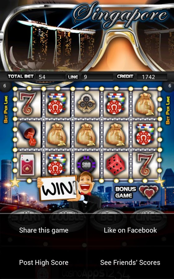 Singapore Slot Machine HD - screenshot