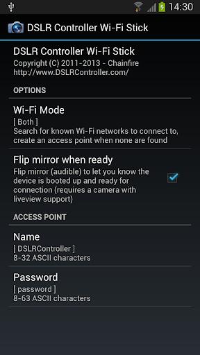 DSLR Controller Wi-Fi Stick