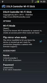 DSLR Controller Wi-Fi Stick Screenshot 1
