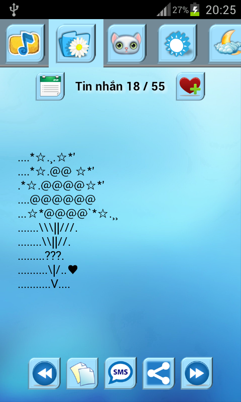 Tin Nhan Ki Tu- screenshot