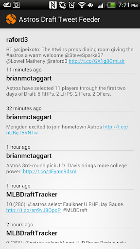 【免費運動App】Houston Astros TweetMonitor-APP點子