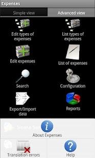 DMF Expenses- screenshot thumbnail