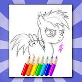 Nice My Pony Coloring for Kids