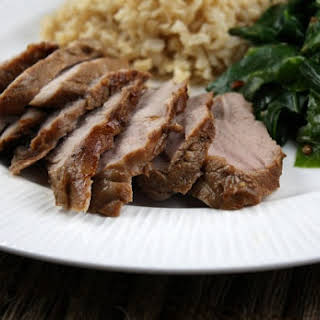 Asian- Spiced Pork Tenderloin.