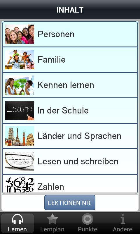 Learn Czech - 50 languages - screenshot
