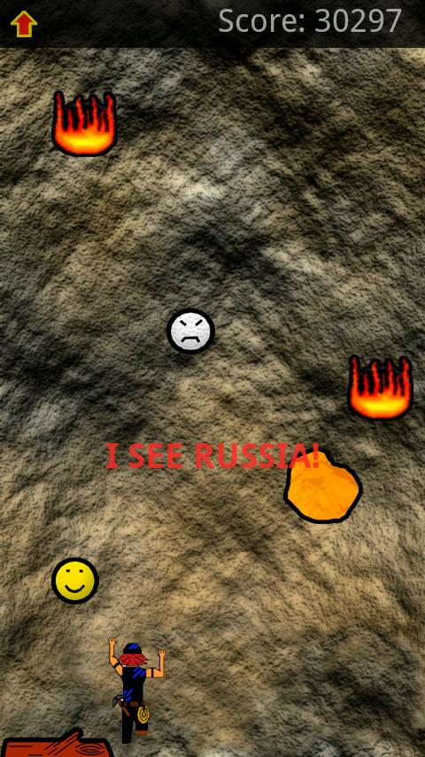 Volcanic Ascent Free- screenshot