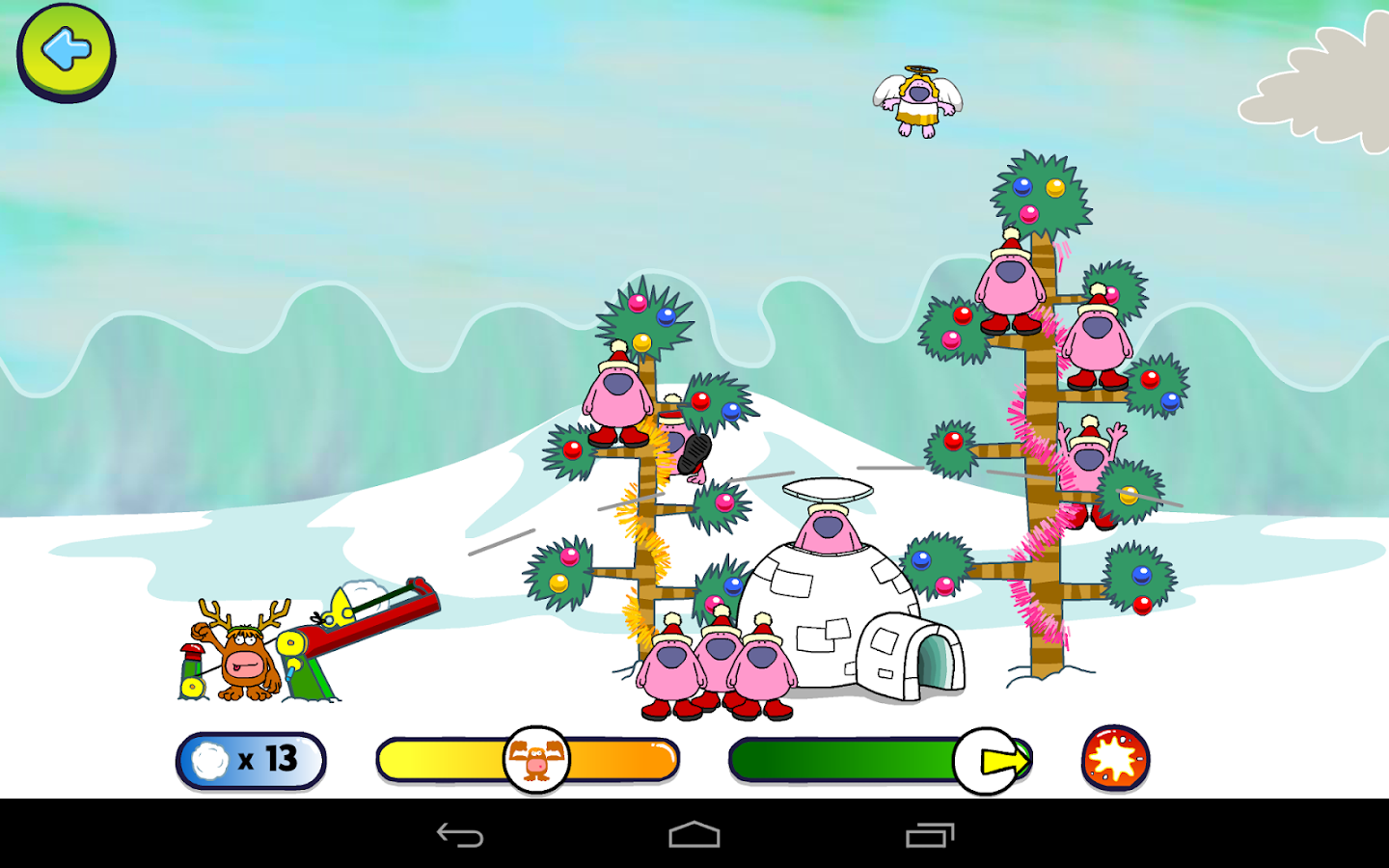 Snowball Shootout- screenshot