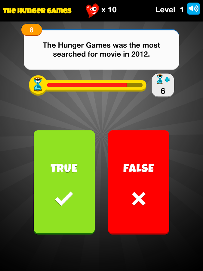 Hunger Games Tributes Trivia - screenshot