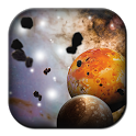 Space Free 3D Live Wallpaper icon