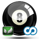 DroidPool 3D logo