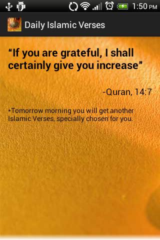 Daily uplifting Quran Verses