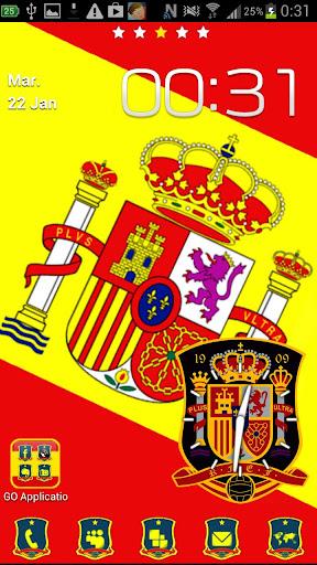 Go Launcher tema España Deluxe