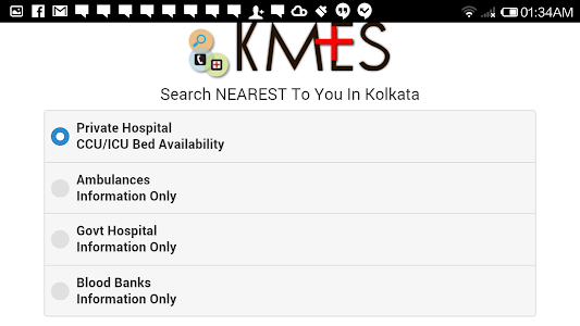 KMES-Kolkata Medical Emergency screenshot 8