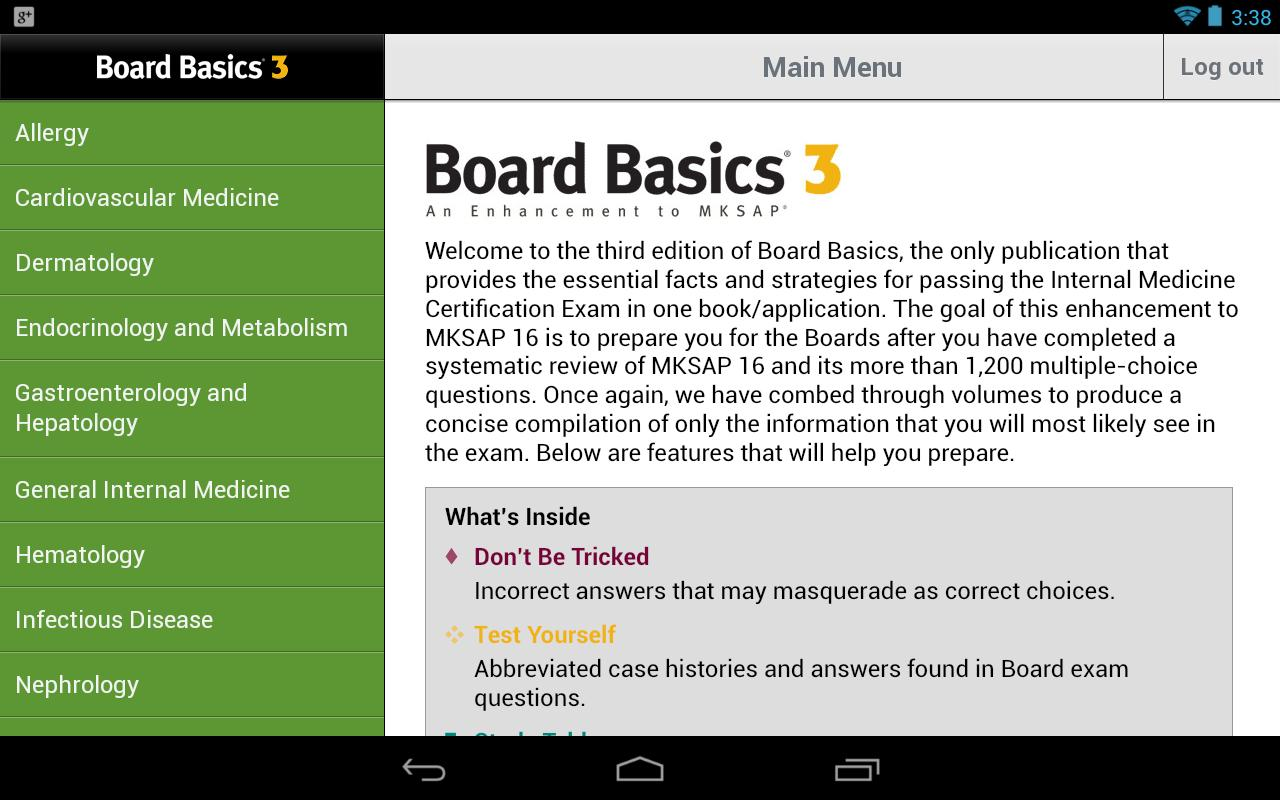 Board Basics 3 Tablet Edition - screenshot