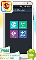 Screenshot of Calls Blacklist
