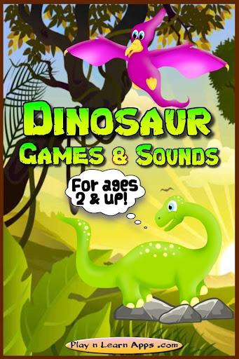 Dino Toddler Games Sounds