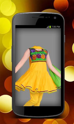 Indian Kid's Dress Suit Photo