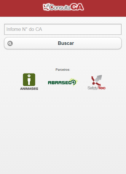 Consulta CA - screenshot
