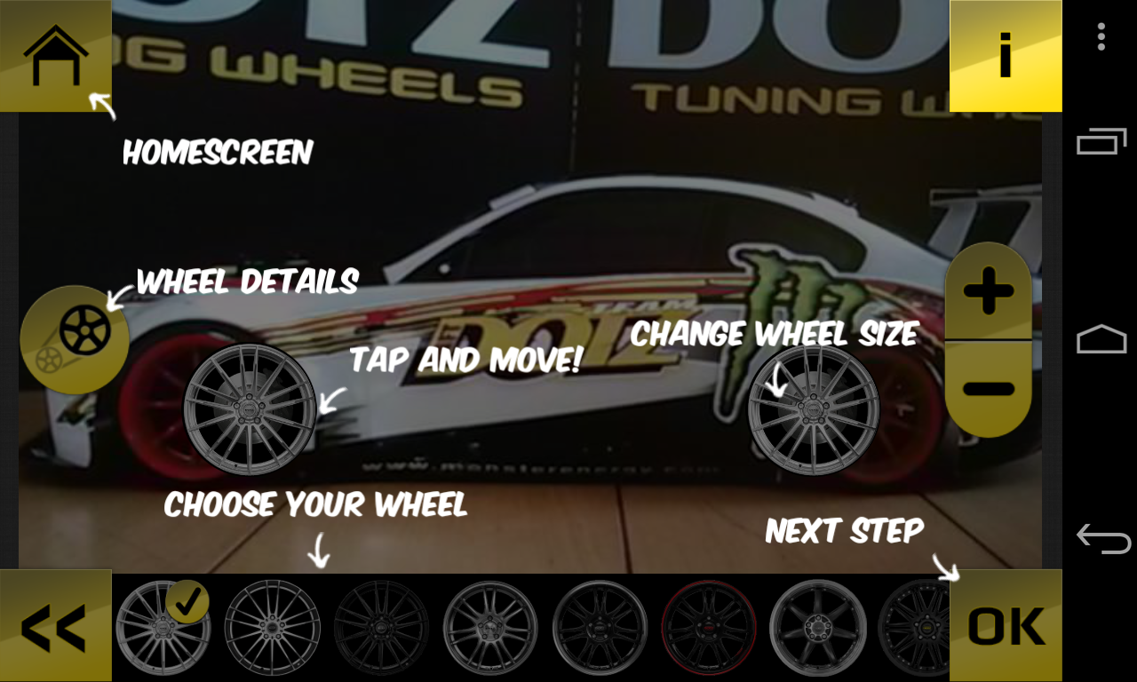 Dotz Tuning Wheels - screenshot