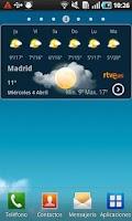 Screenshot of El Tiempo en RTVE.es