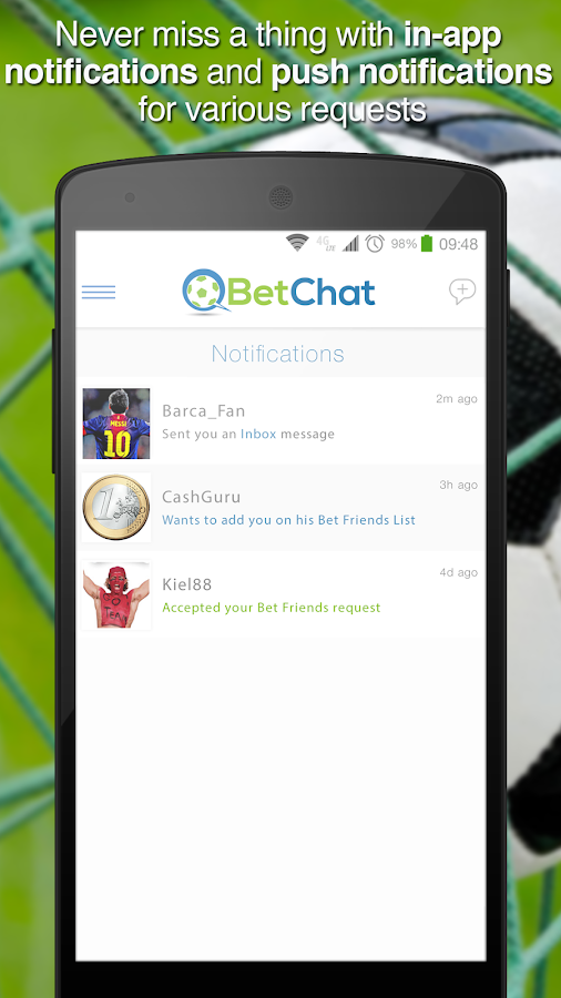BetChat Messenger - screenshot