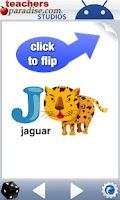 Screenshot of Alphabet Zoo Baby ABCs