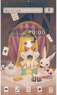 Alice's Tea Party for[+]HOME- screenshot thumbnail