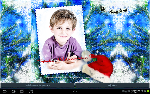 Christmas Photo Cards LWP