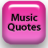 Music Quotes icon