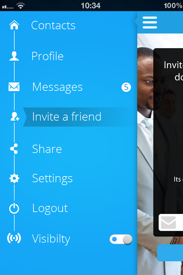 Blink Chat for LinkedIn™ - screenshot