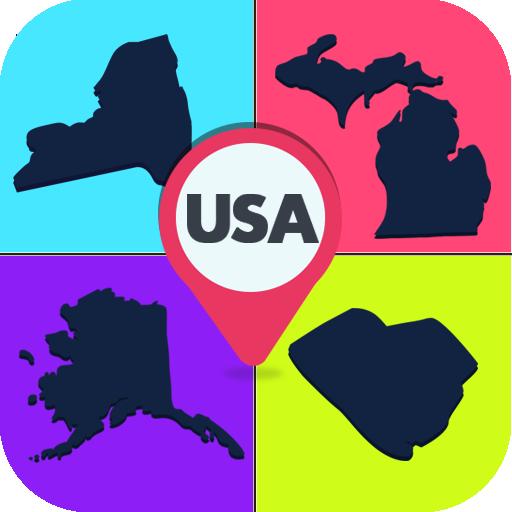 美国州的影子测验 益智 App LOGO-硬是要APP