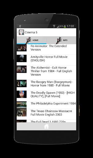 玩免費媒體與影片APP|下載Horror Movies & Films Deluxe app不用錢|硬是要APP