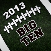 2013 Big Ten Football Schedule