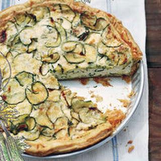 Zucchini-and-Ricotta Tart