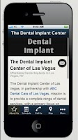 Screenshot of The Dental Implant Center