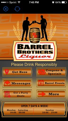 Barrel Brother Liquor