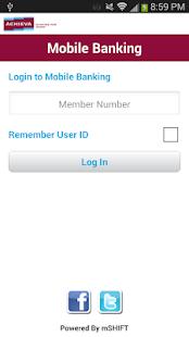 Achieva Credit Union - screenshot thumbnail