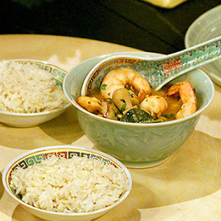 Hot and Sour Shrimp Soup