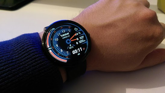 Torque Watch Face- screenshot thumbnail